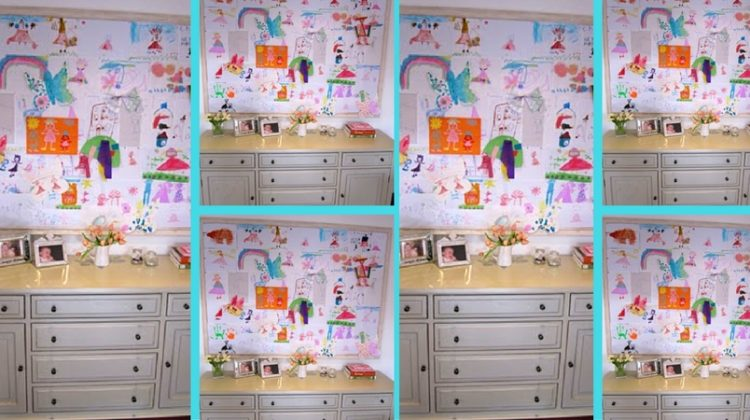 HUGE Display Board for Children's Artwork