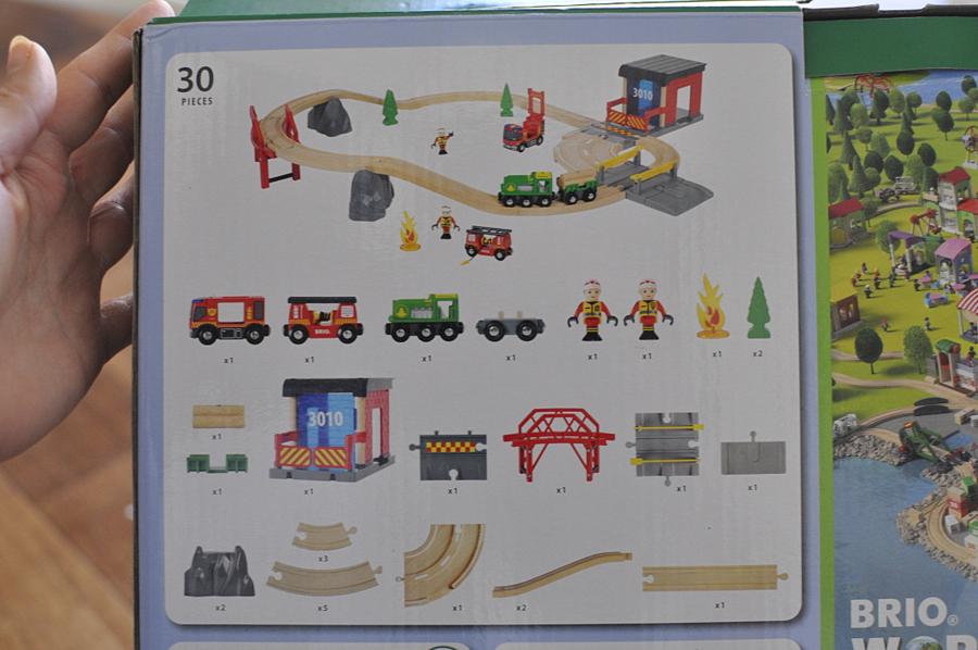 Brio Rescue Set Review - what's in the box