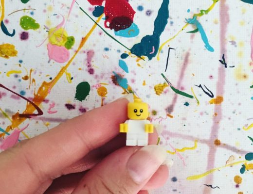 Baby Lego Figurine