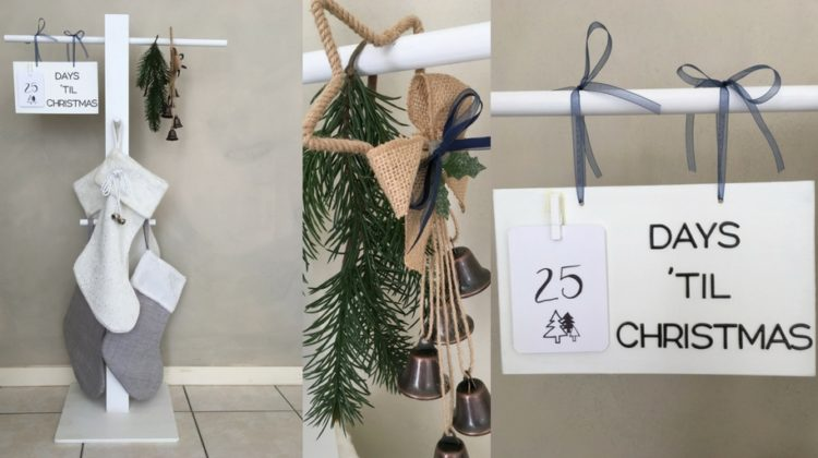 Make Your Own Christmas Stocking Stand