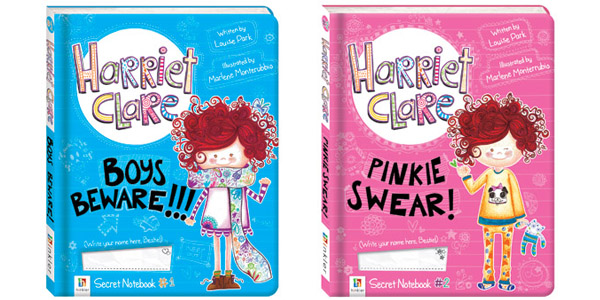 Harriet Clare's Secret Notebook (series) by Louise Park