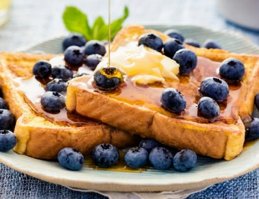 A bit fancy - Toast Topping Ideas