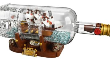 LEGO Ideas: Ship in a Bottle