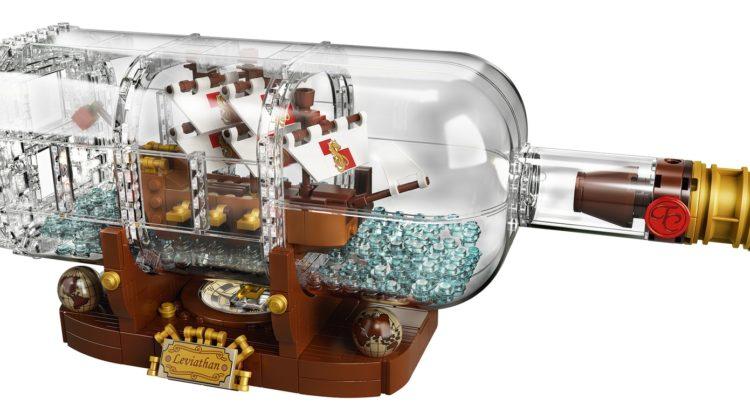 LEGO Ideas: Ship in a Bottle