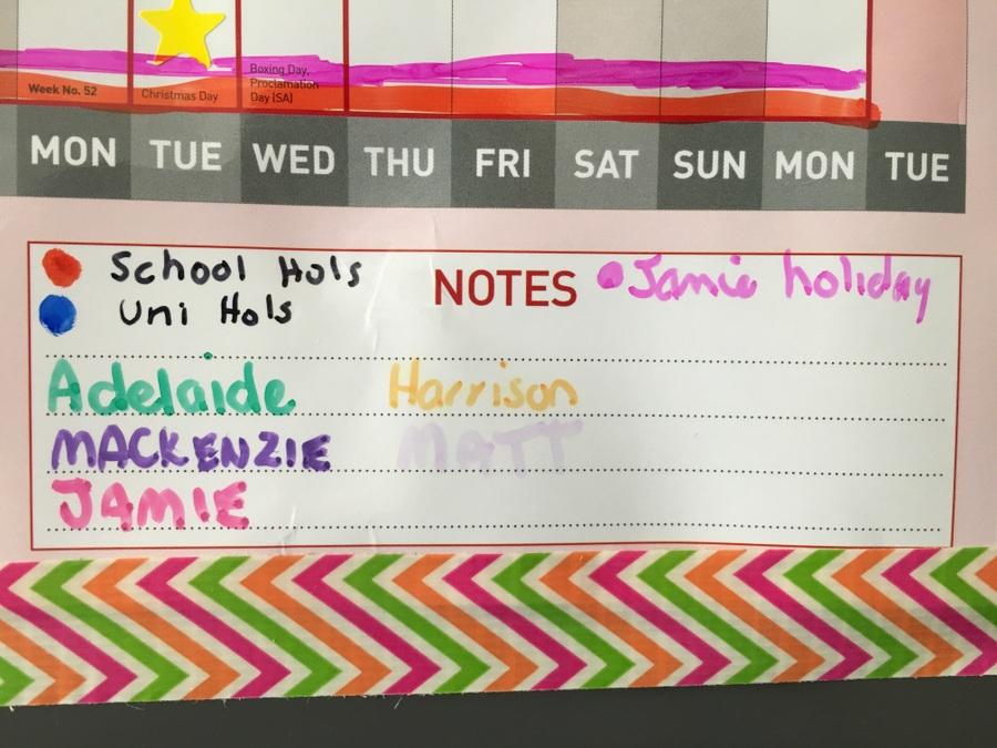Organising multiple school schedules