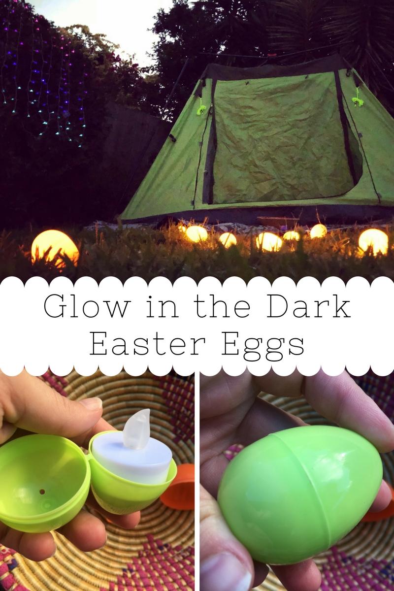 Easter Activities - Glow in the Dark Easter Egg Games