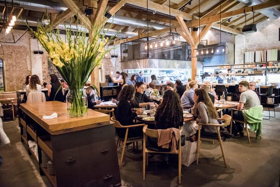 Claro restaurant, Tel Aviv in Israel
