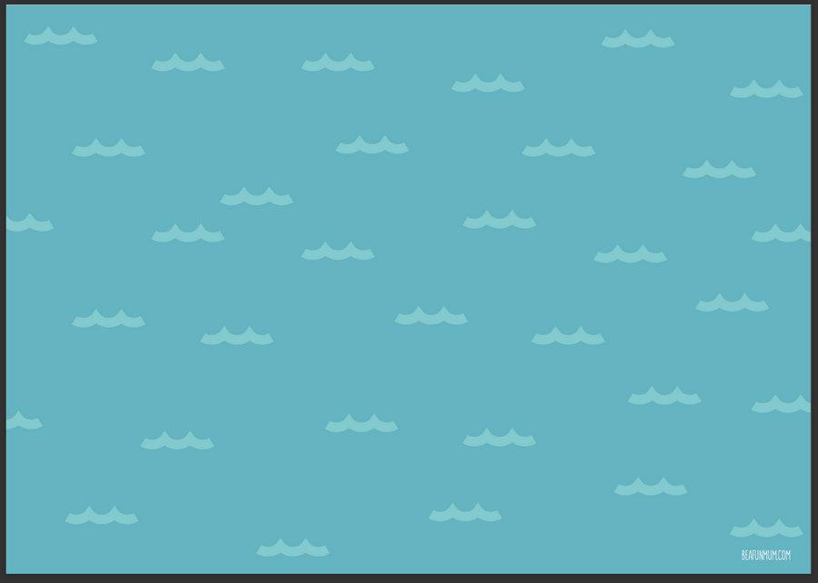 Ocean Play Mat