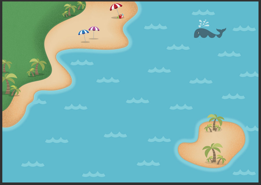 Ocean Island Printable Play Mat Be A Fun Mum
