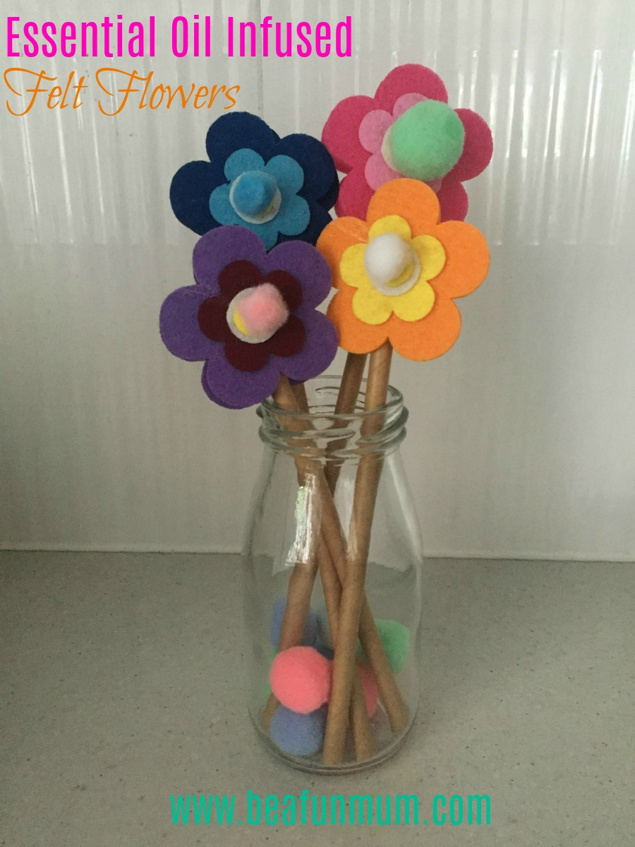bafm essential oil flowers vase pin