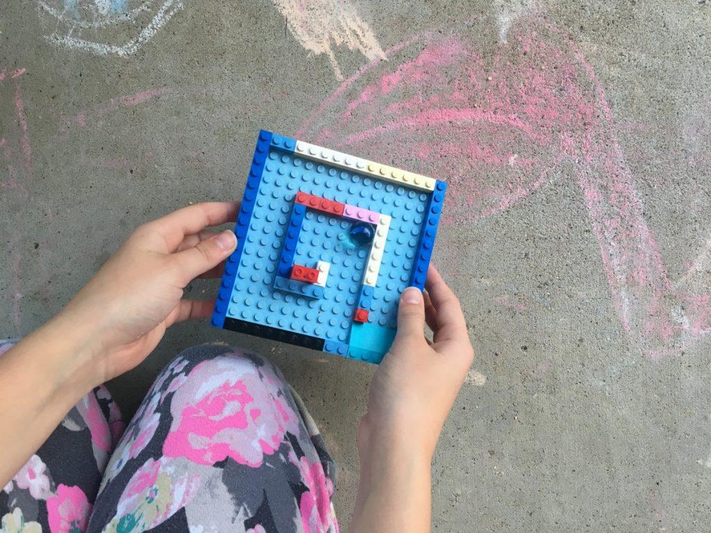 DIY Lego Marble Maze