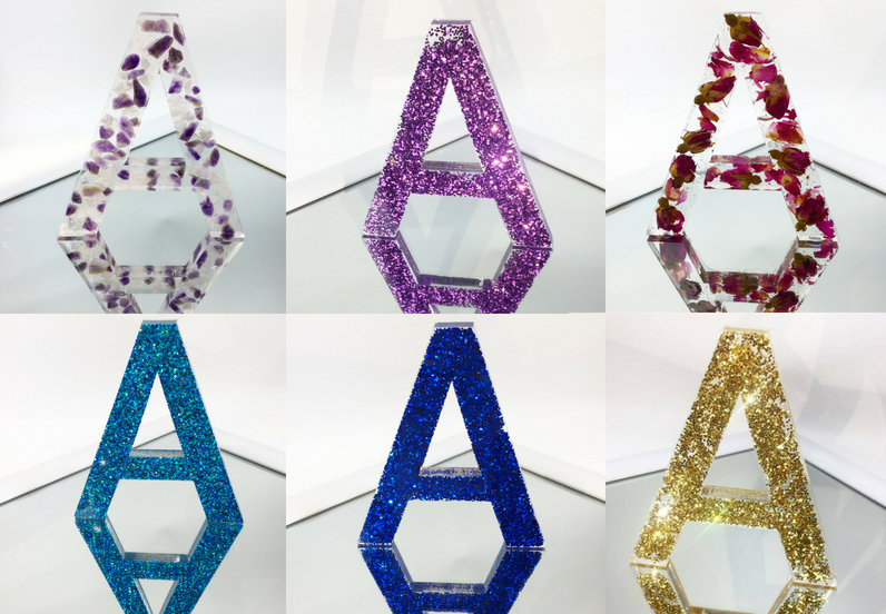 Decorative Resin Letters