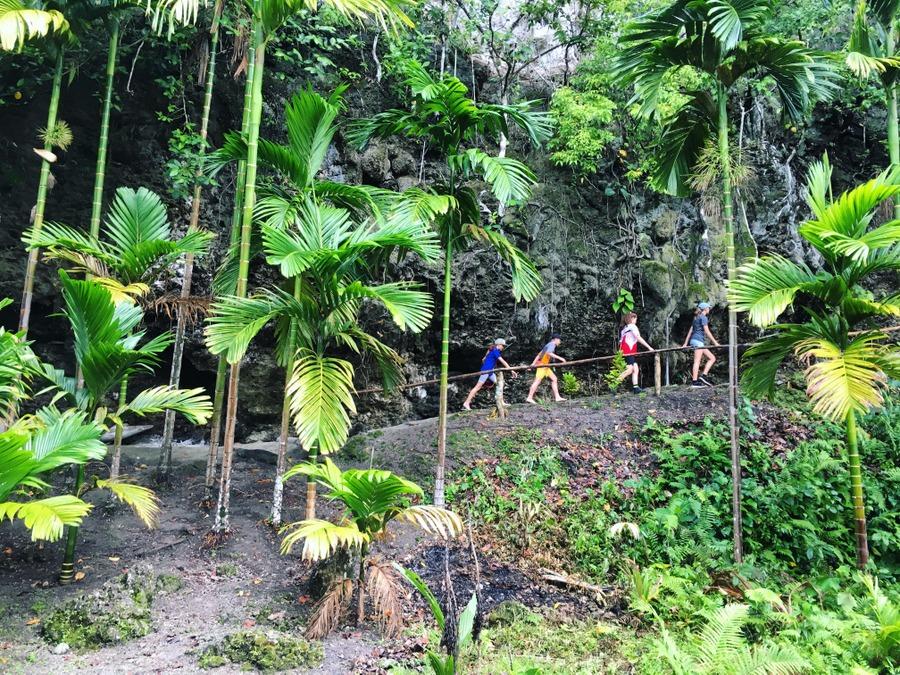 Exploring in Papua New Guinea