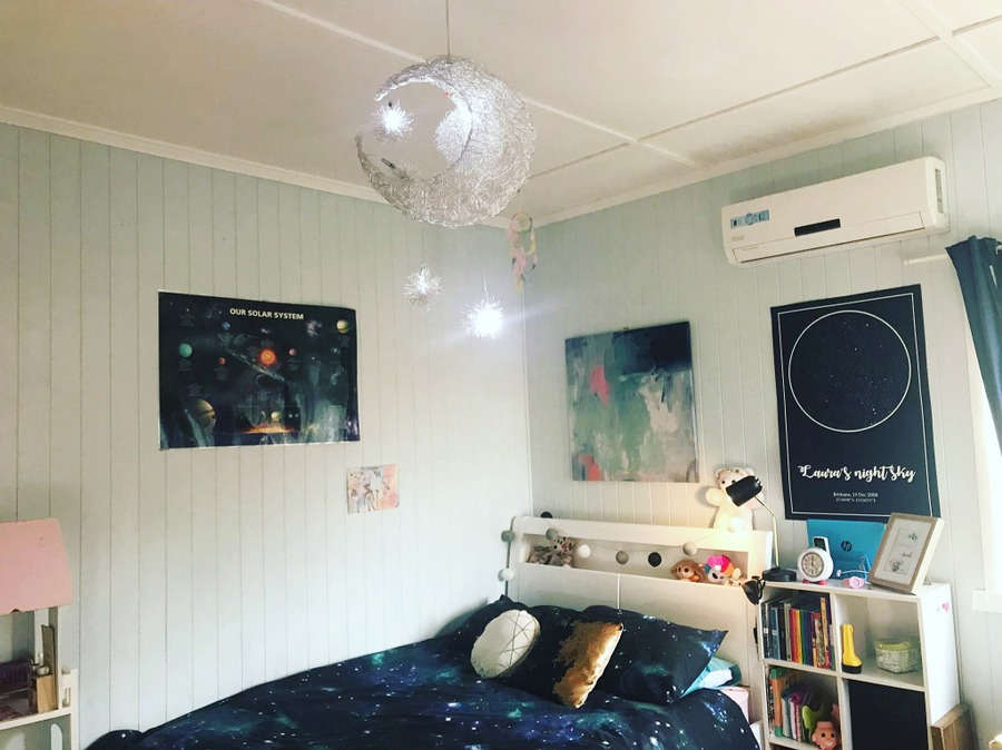 Space Theme Bedroom
