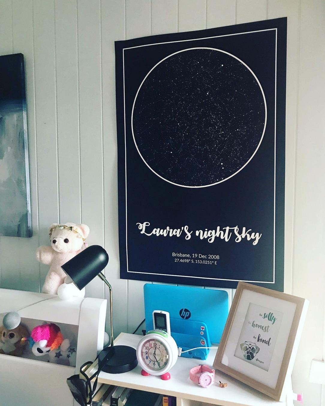 Space Theme Bedroom