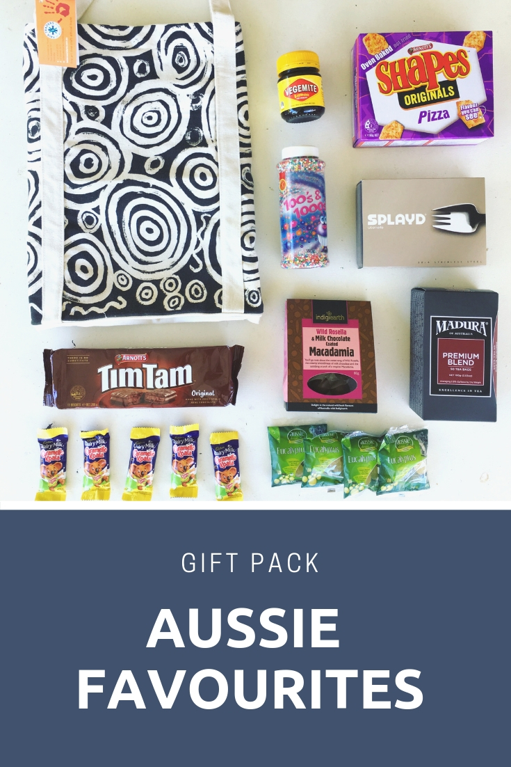 Aussie favourite treats -- items you gift to excange host