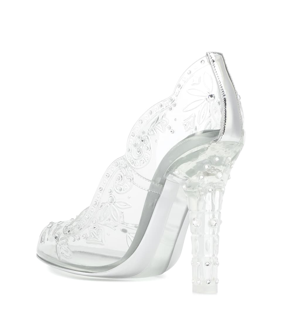 Cinderella Glass Slipper Shoes by Dolce & Gabbana