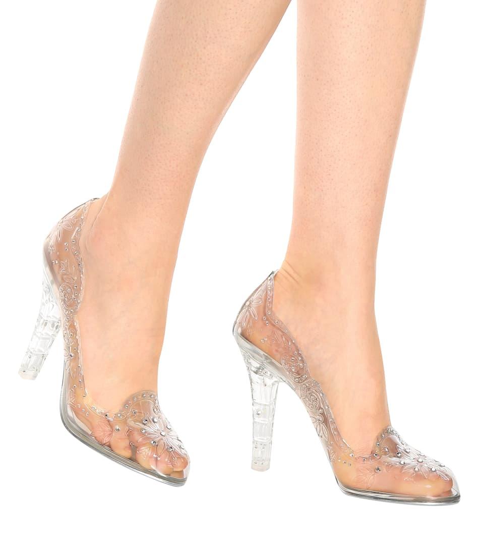Cinderella Glass Slipper Shoes by Dolce & Gabbana