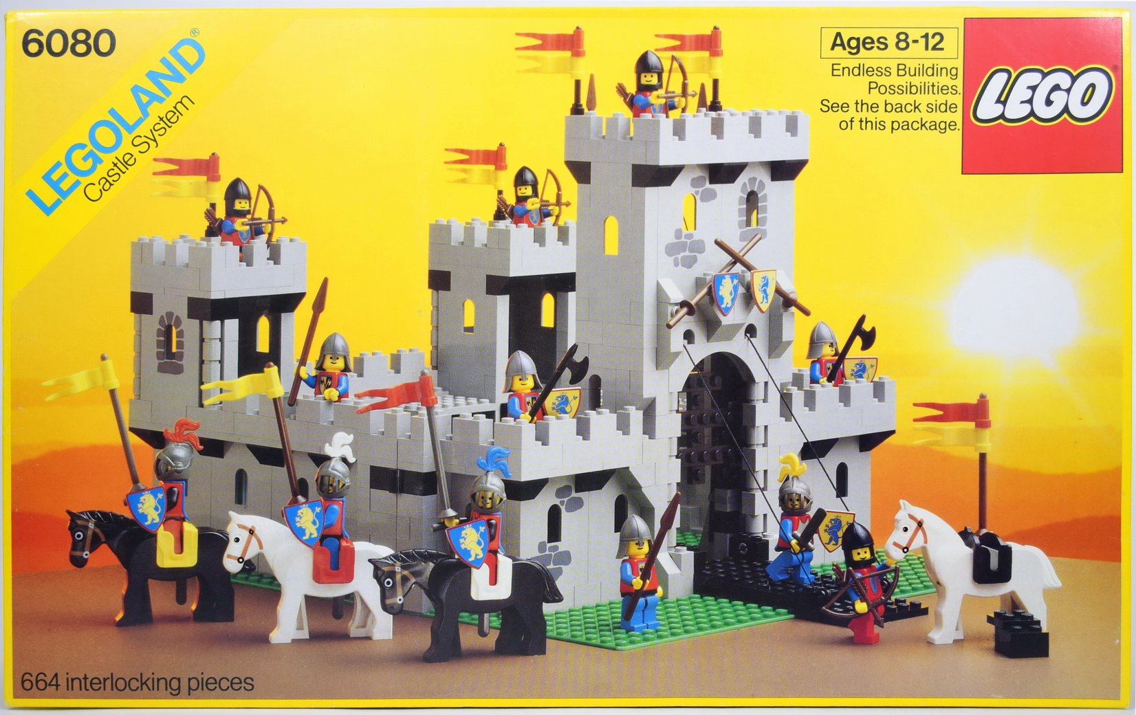 lego retro knight's castle