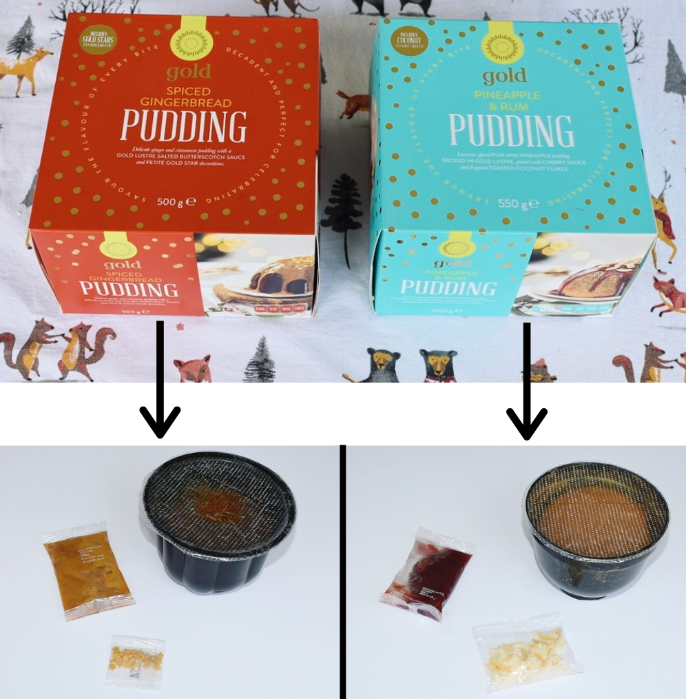gold pudding