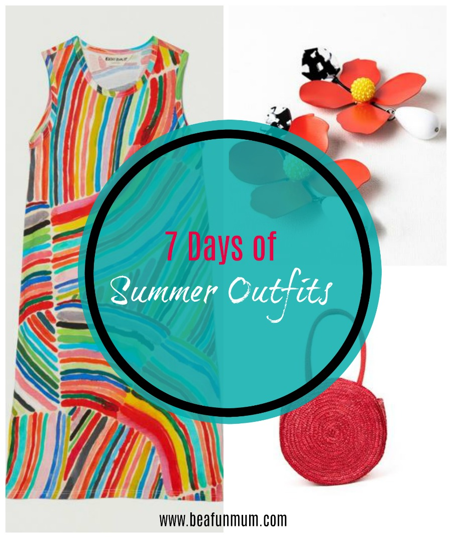 7 days of summer outfits