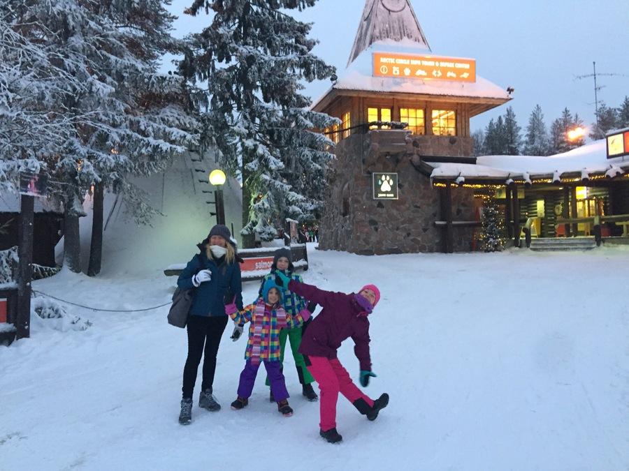 Santa Claus Village -- Finland