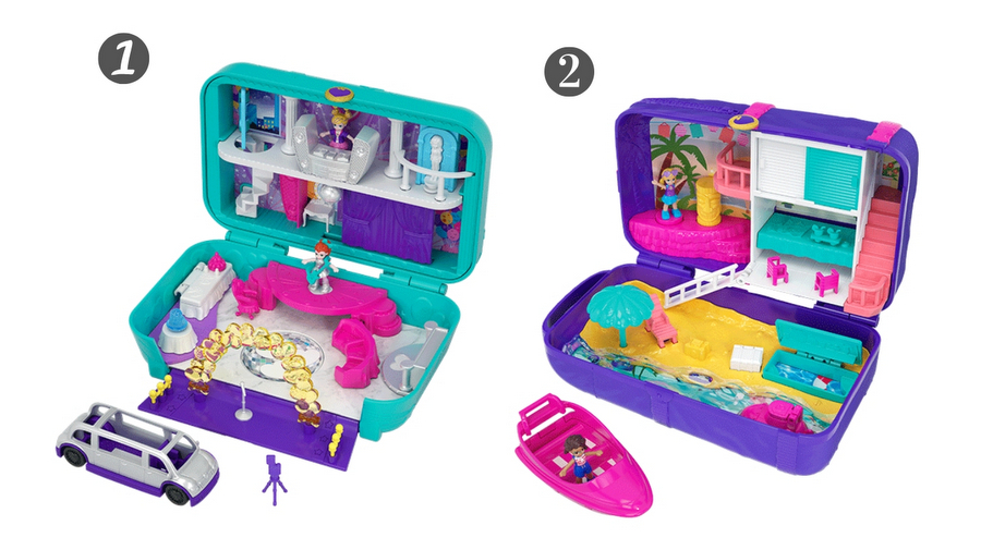 Polly Pocket Hidden Places