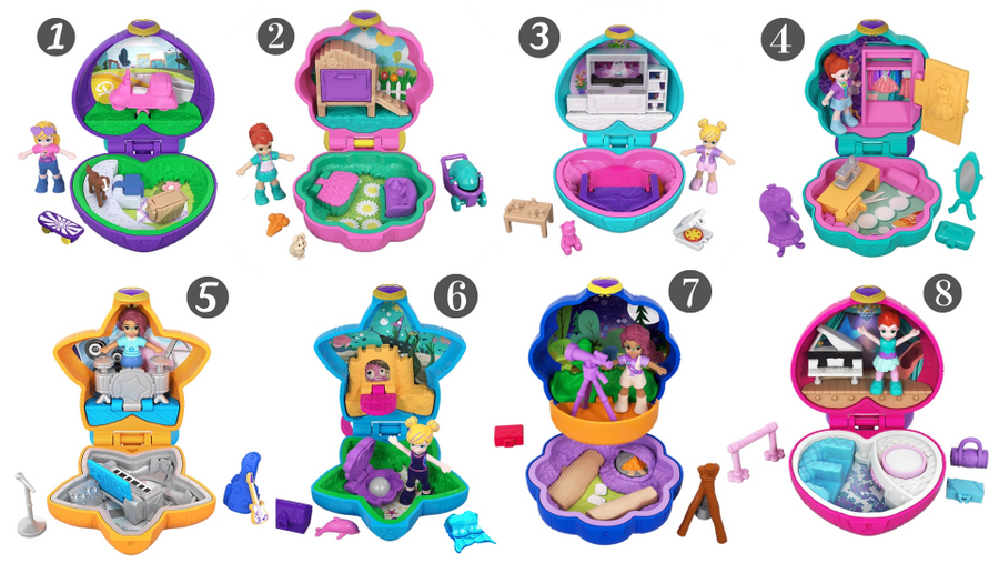 Polly Pocket - Tiny Pocket Places