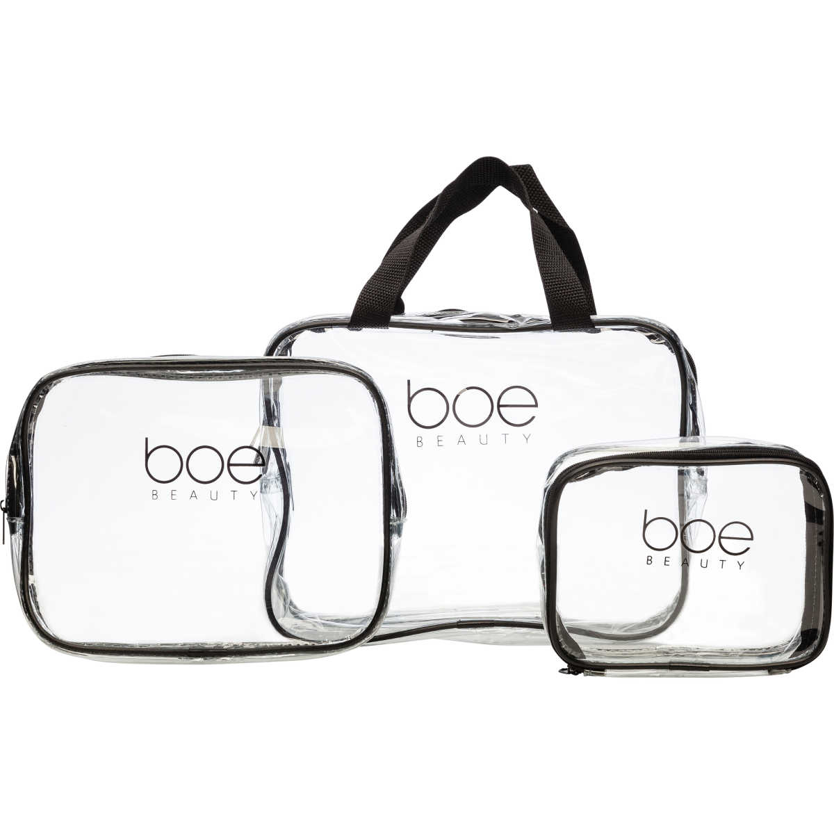 clear cosmetic case for travel