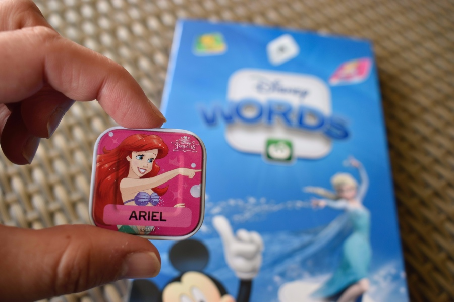 Disney words tile Ariel