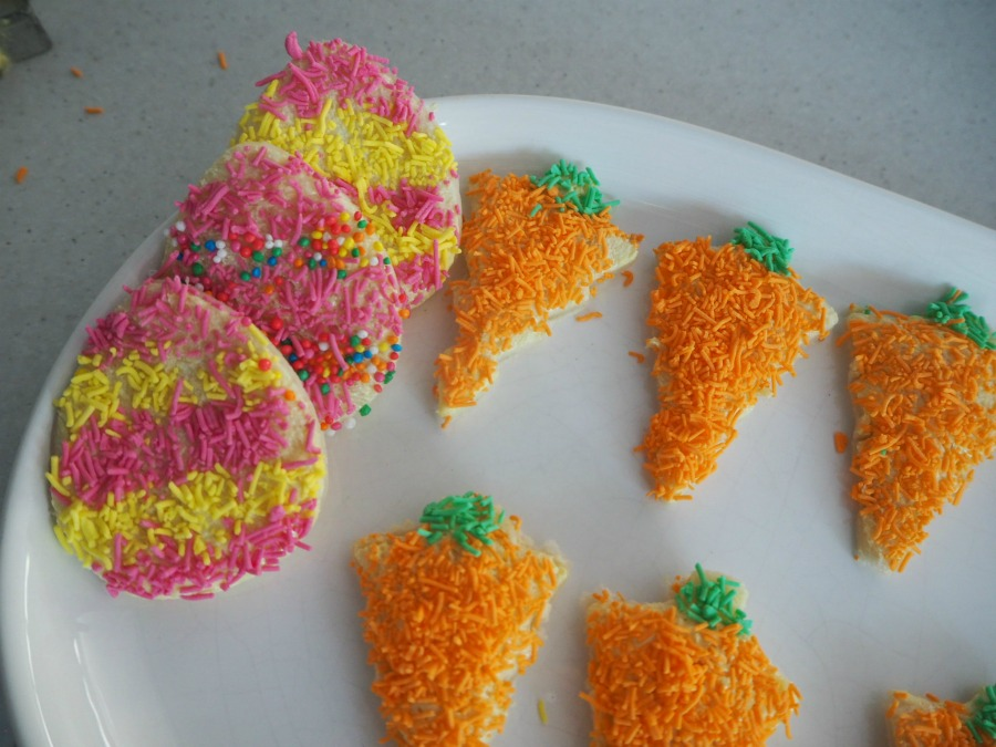 easter fairy bread