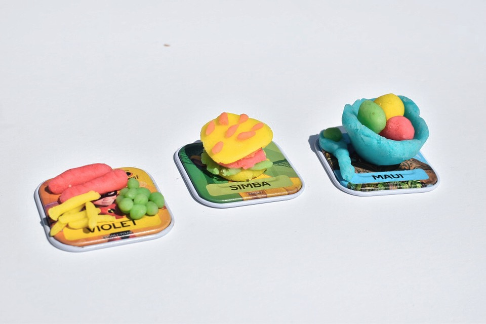 cute play dough food for pretend play