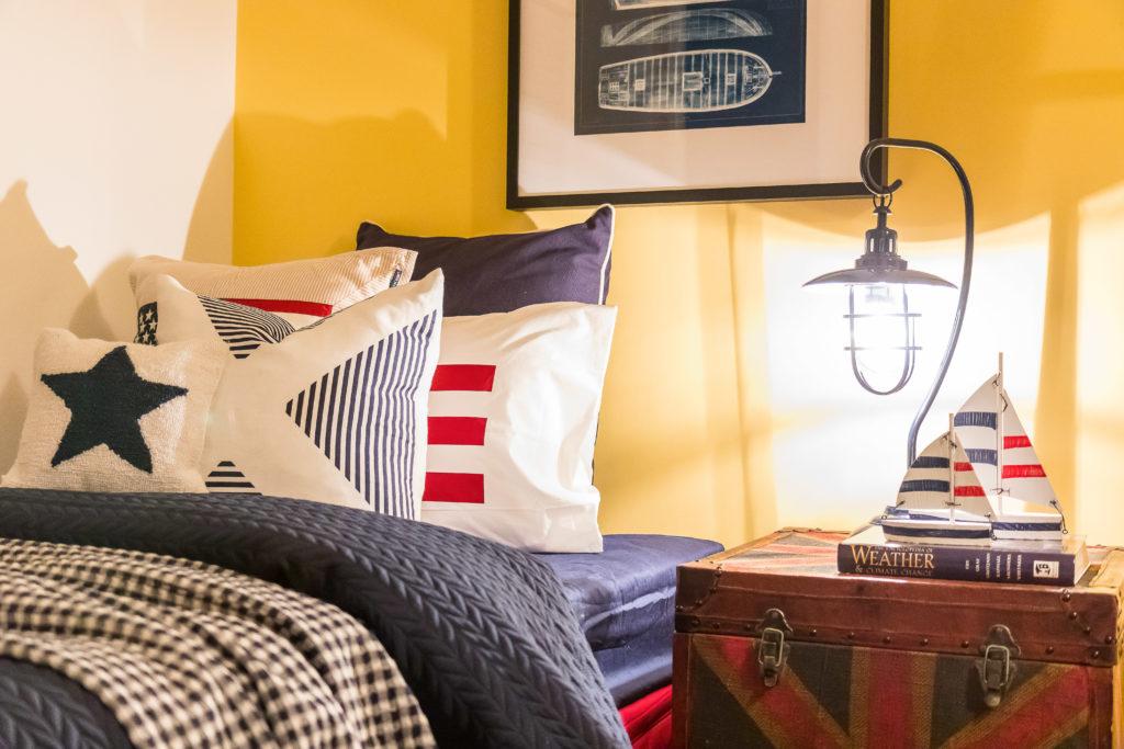 nautical theme bedroom for teen