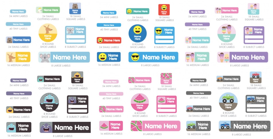 name-labels-for-kids-different-designs