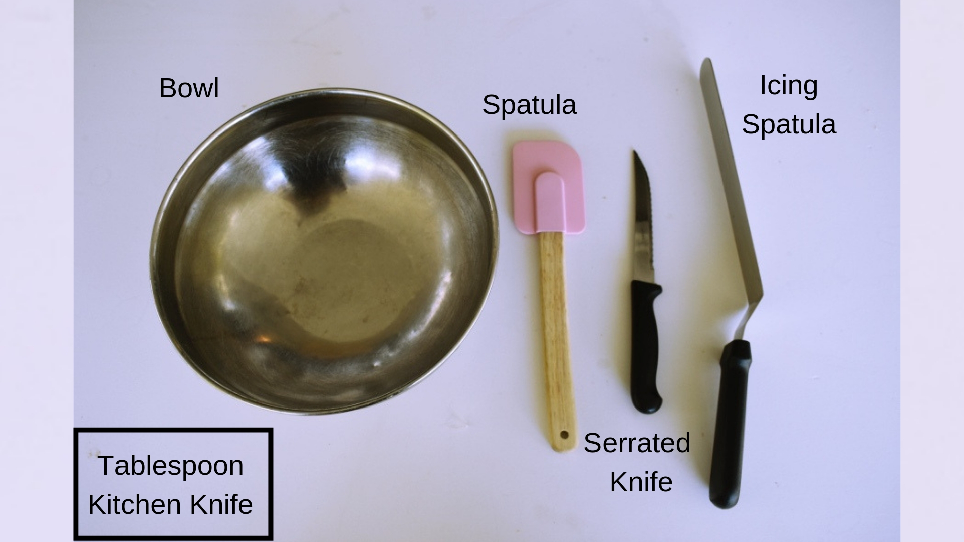 Baking tools for novices