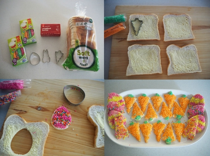 Easter Food Ideas - Easter Fairy Bread