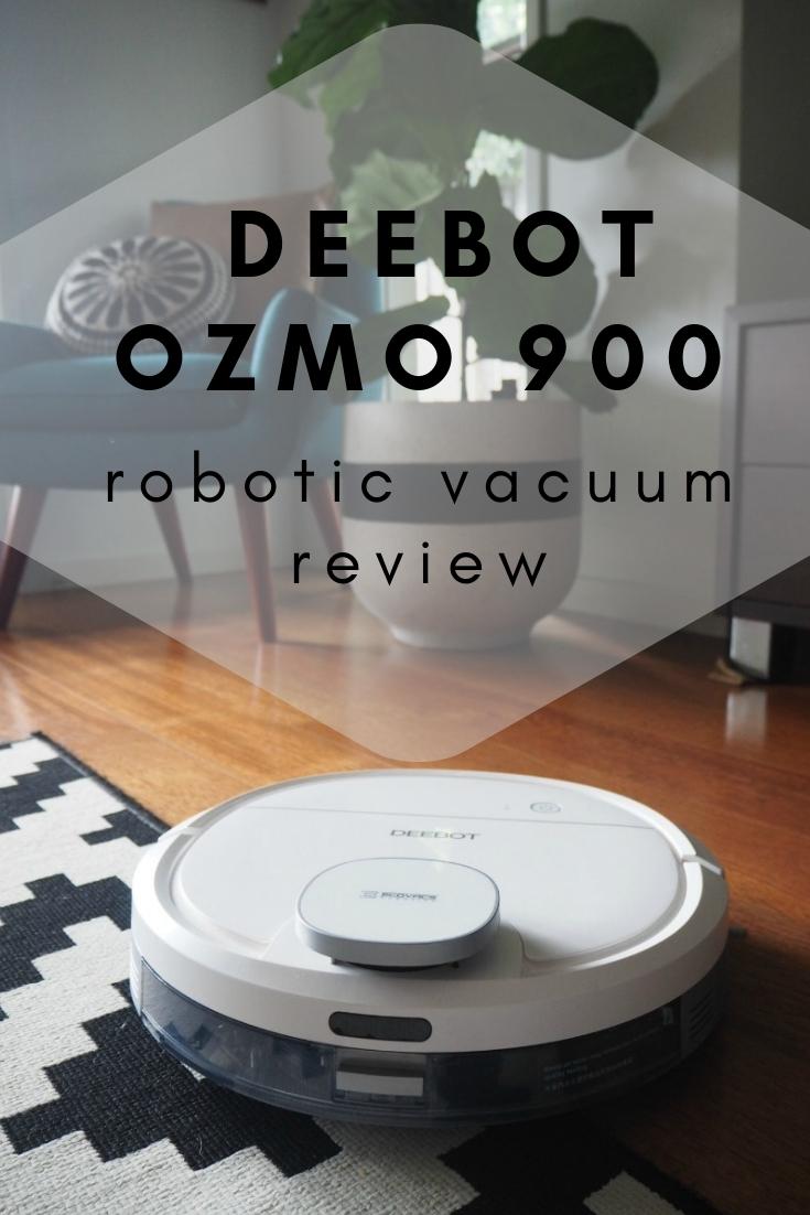 ECOVACS ROBOTIC Deebot Ozmo 900