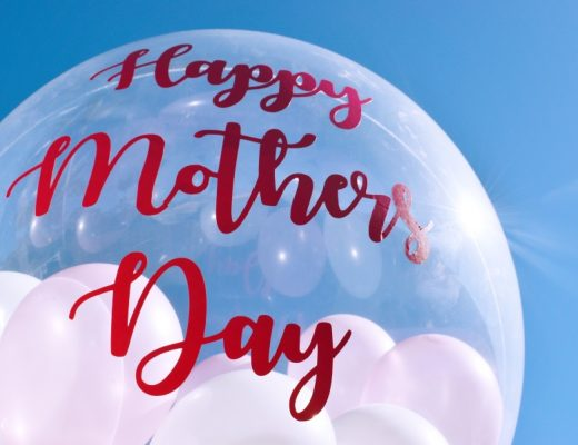 Mother day hamper idea baloon