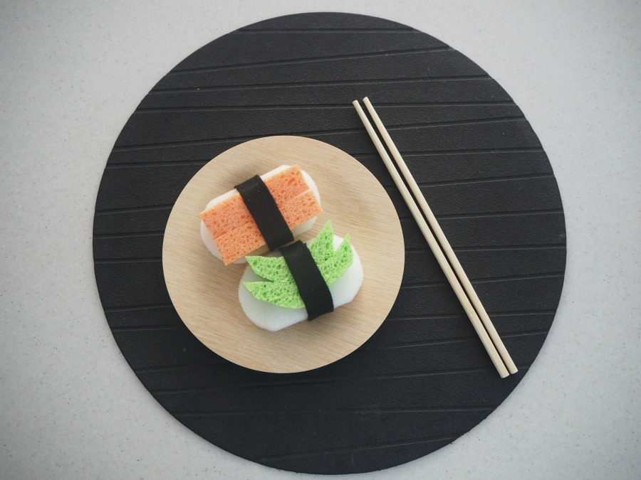 Make Your Own Sponge and Felt Sushi For Tea Party Play