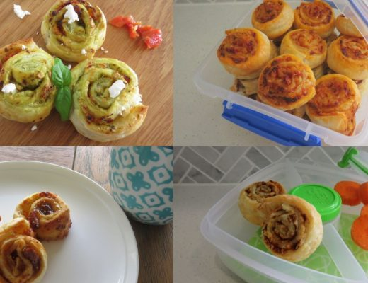 scrolls 4 ways - lunch box ideas for kids