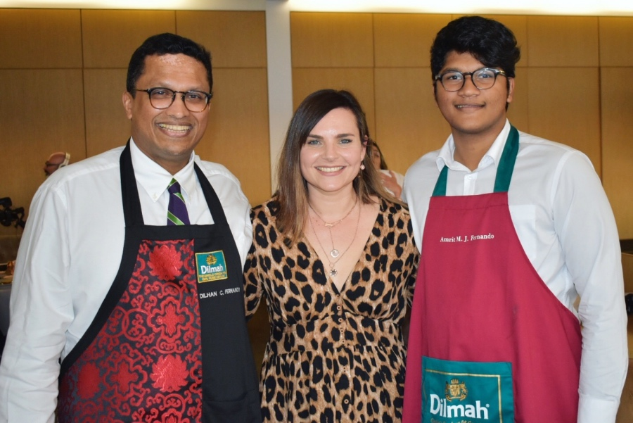 Dilhan Fernand and Amrit Fernand - Dilmah Australia 2019