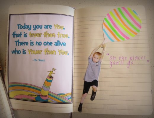 Keepsake-idea-for-kids - graduation / school book