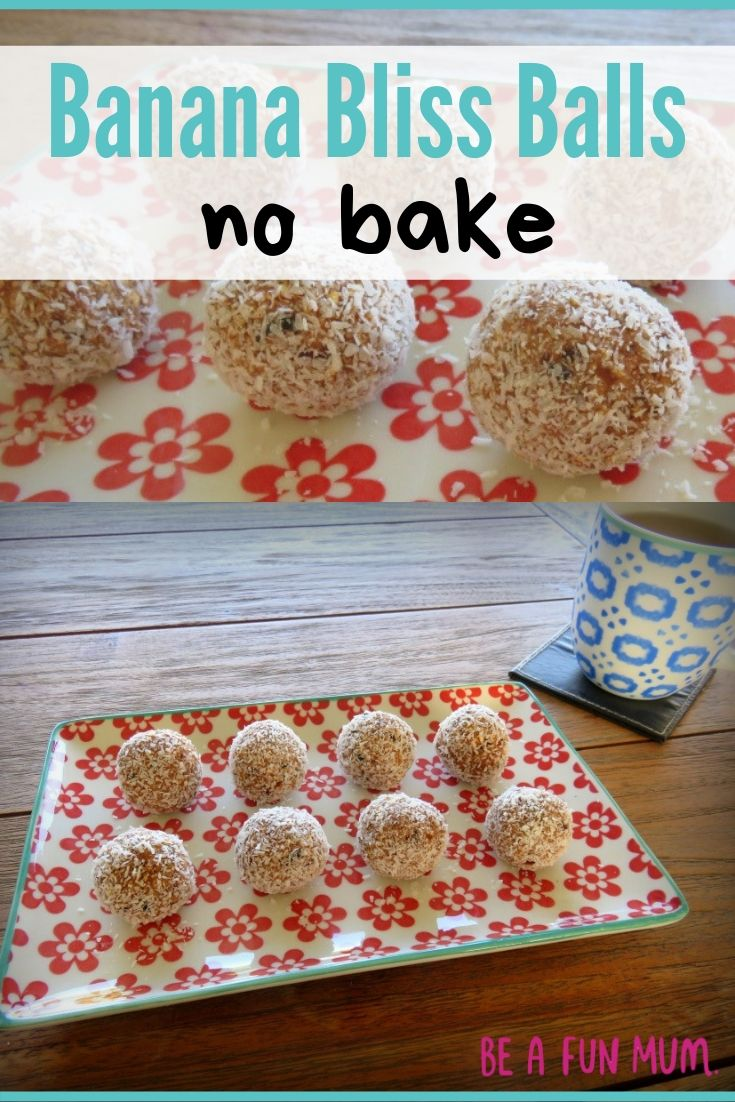 lunch box ideas for kids banana bliss balls