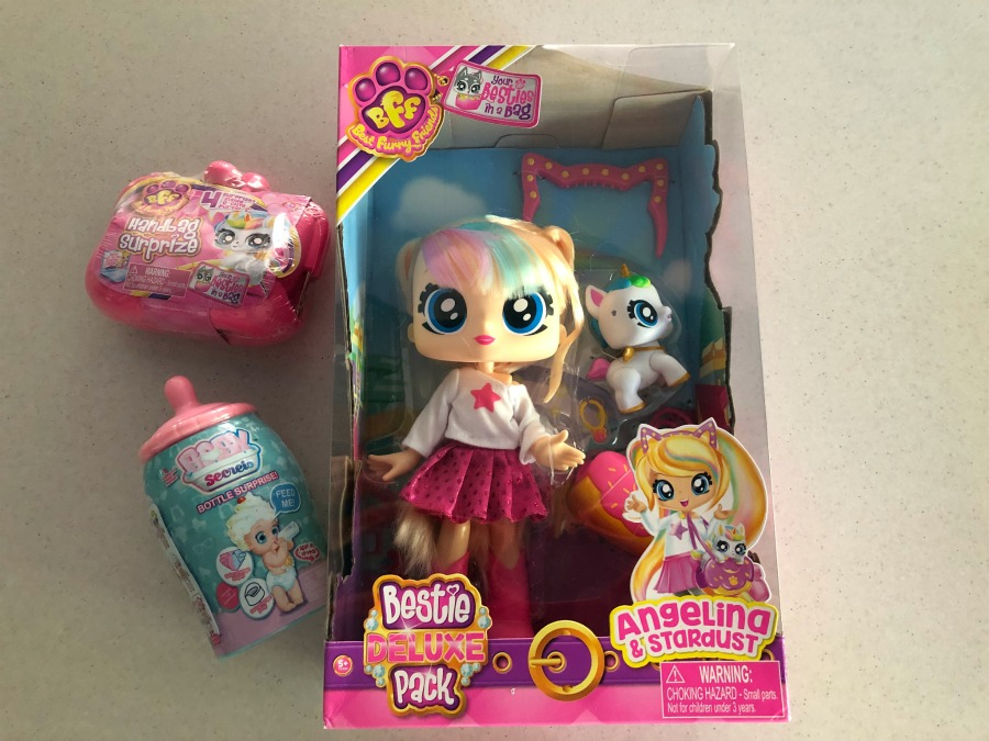 Baby Secrets Bottle Surprise, BFF Handbag Surprize and Deluxe Besties