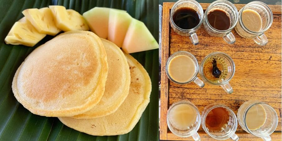 Cycle Tour in Ubud Bali -- Breakfast