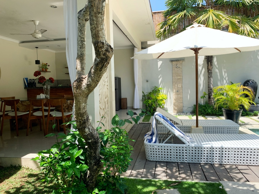 Casa Daha Bali Review -- Outdoors Living Area