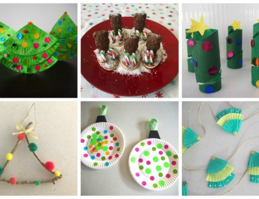 24 days of Christmas crafts and food ideas