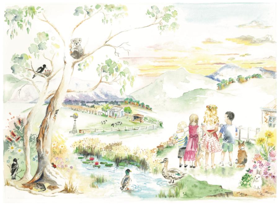 illustration wendy francis book