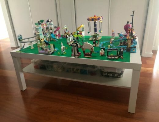 The Plumbette LEGO Coffee Table