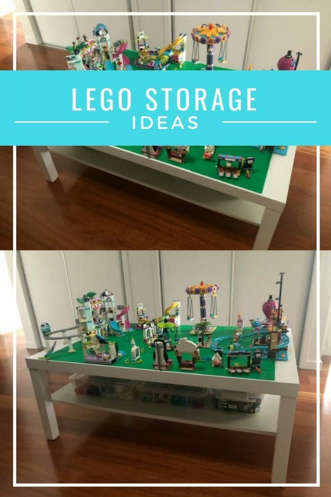 Easy lego storage ideas -- hack